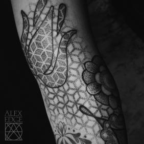 Alex Edge, Alex Edge Tattoos, Dotwork Tattoos, Dotwork tattoo san diego, san diego tattoo