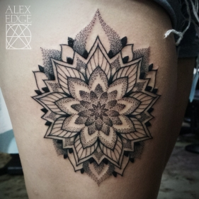 Alex Edge, Alex Edge Tattoos, Dotwork Tattoos, Dotwork tattoo san diego, san diego tattoo